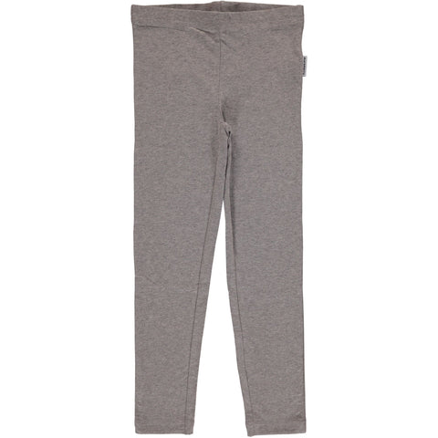 Maxomorra Leggings Light Grey Melange - Licht Grijze Legging