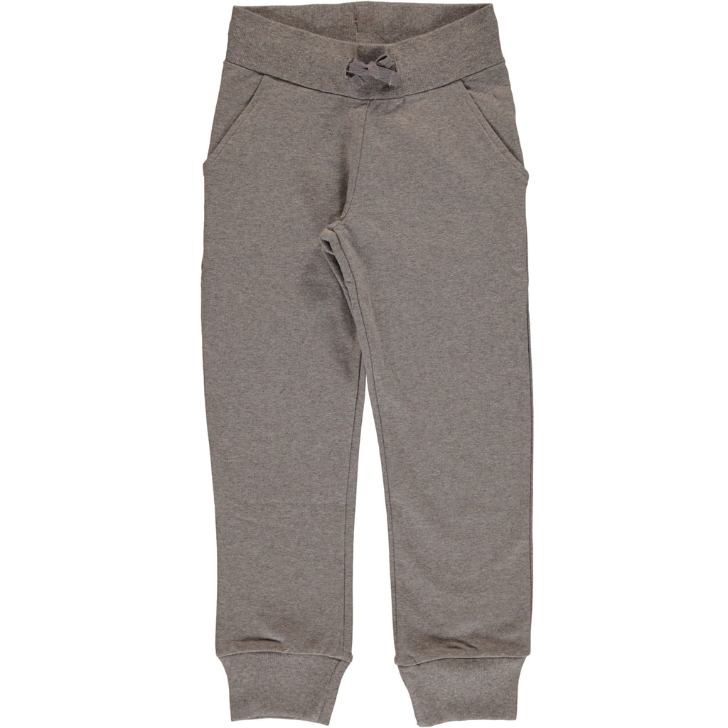 Maxomorra Sweatpants Light Grey Melange - Licht Grijze Sweat Broek