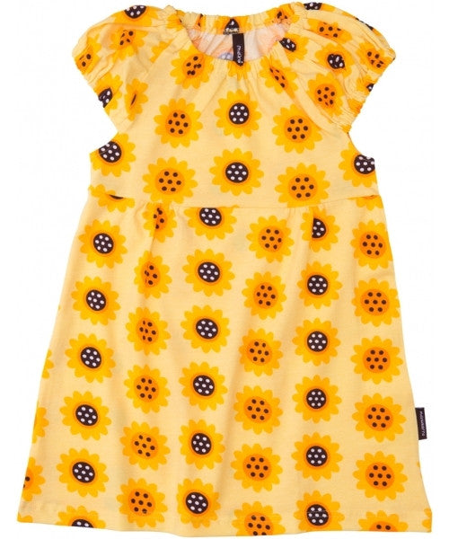 Maxomorra Dress Singoalla Sunflower