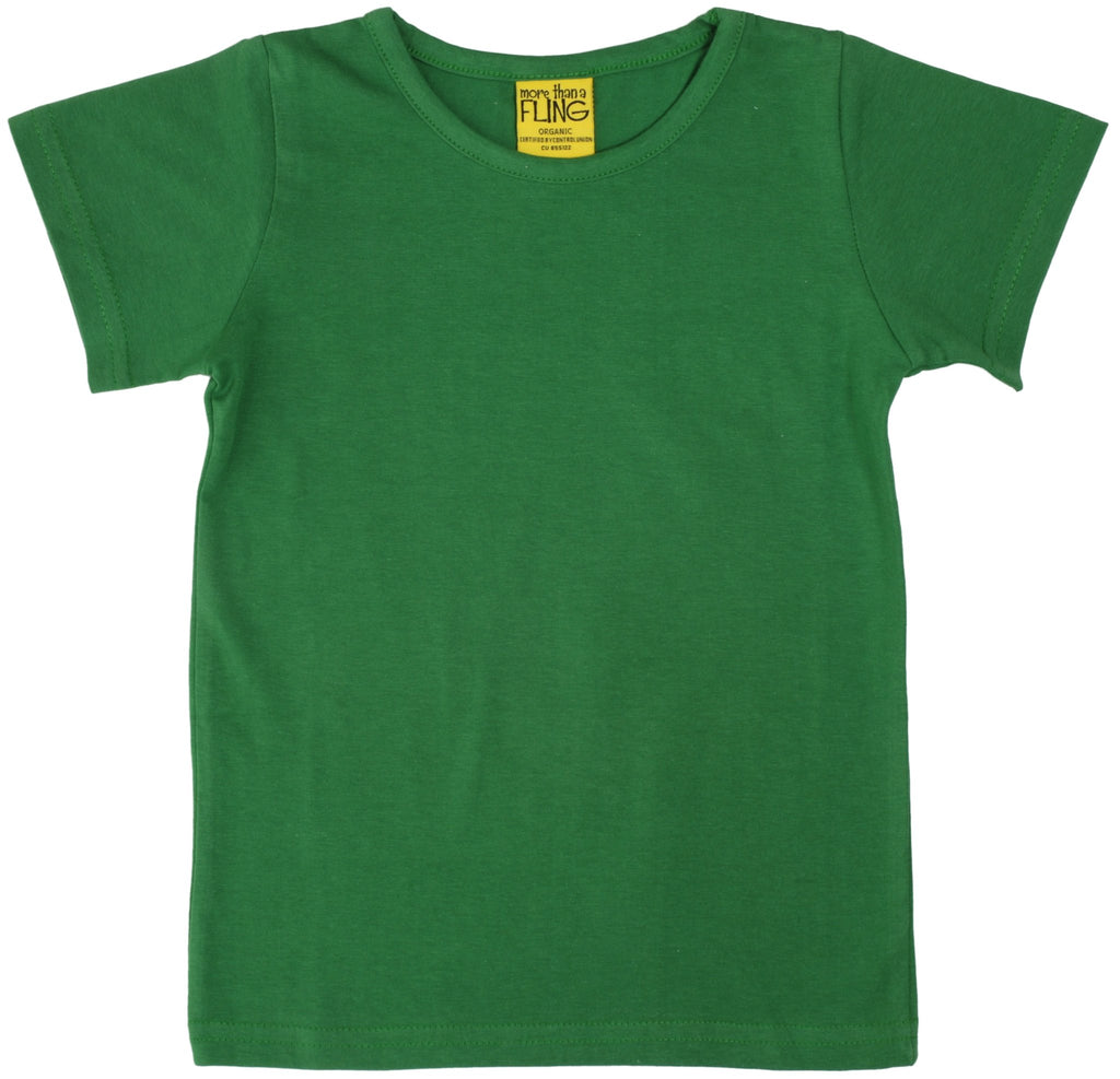More Than A Fling T Shirt Dark Green - Shirt Donker Groen
