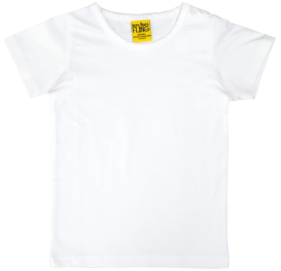 More Than A Fling T Shirt White - Shirt Wit