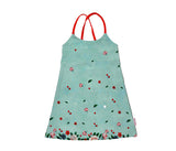 Baba Babywear - Summer Dress Chinese Flower Spaghettiband Jurk Chinese Bloemen
