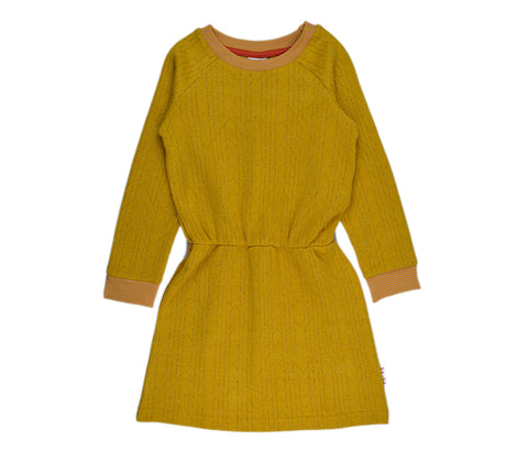 Baba Babywear - Dress Sweater Gold Jacquard