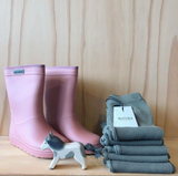 Enfant Rubber Rain Boot Solid Old Rose - En fant Regenlaarzen Oudroze