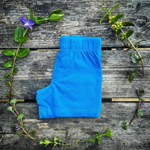 More Than A Fling Shorts Directoire Blue