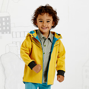 AlbaBaby Jacket Gonye Yellow