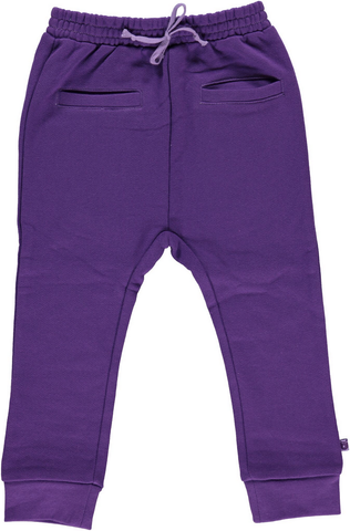 Smafolk - Sweatpants Purple - Paarse Baggy Joggingbroek