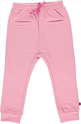 Smafolk - Sweatpants Rose - Lichtroze Baggy Joggingbroek