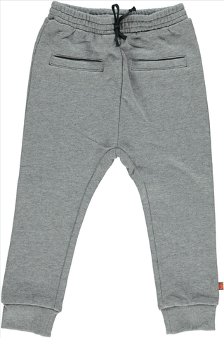 Smafolk - Sweatpants Grey - Grijze Baggy Joggingbroek