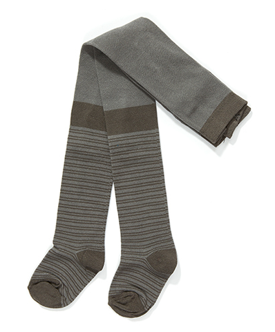 AlbaBaby - Tights Futte Grey Striped