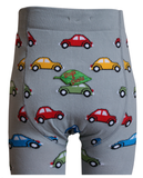 Slugs and Snails - Tights Bug - Maillot Grijs met Kevers/Auto's