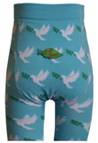 Slugs and Snails - Tights Peace - Maillot Lichtblauw met vredesduif
