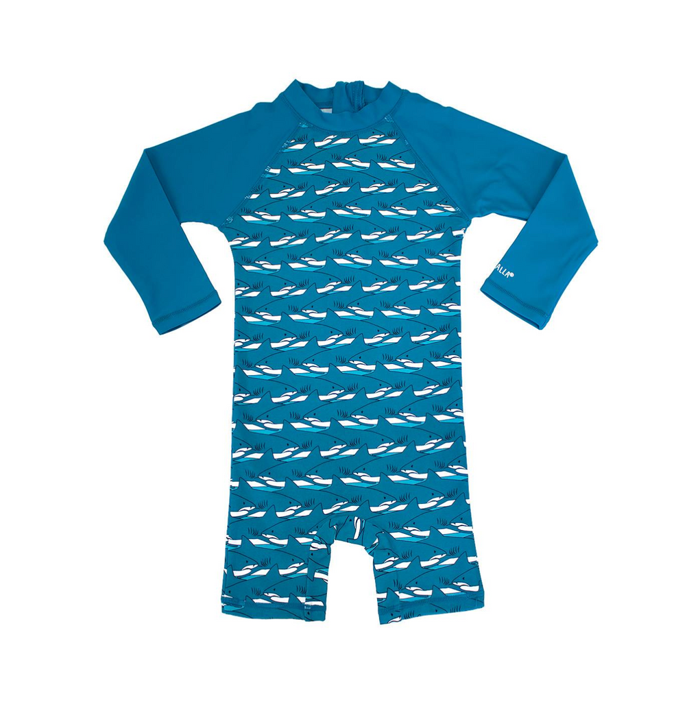Villervalla - UV Suit Shirt Sharks - UV pak Haaien