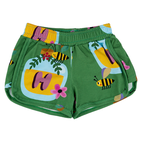 Raspberry Republic - Shorts Hi Honey! - Korte broek Bijen Honing