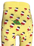 Slugs and Snails - Tights Lollicky Icecream - Maillot IJsjes Geel