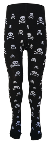 Slugs and Snails - Tights Ahoy - Maillot Piraat - Doodshoofd Skulls