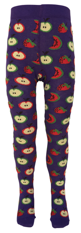 Slugs and Snails - Tights Apple - Maillot Paars Appels