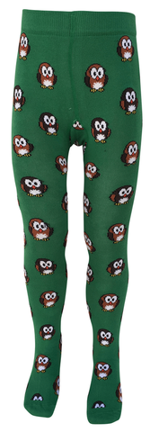 Slugs and Snails - Tights Hoot Owl - Maillot Uiltjes