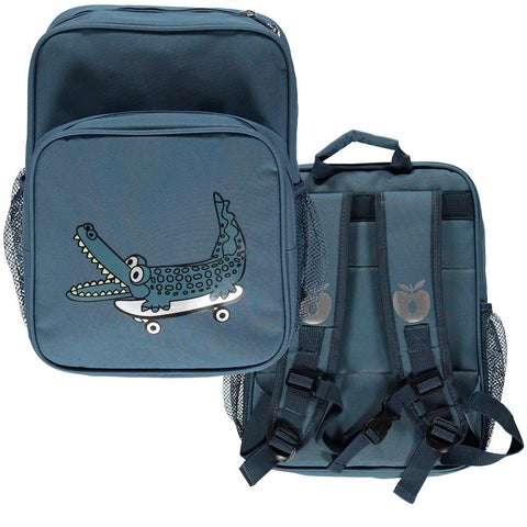 Smafolk Backpack Blue Skateboard