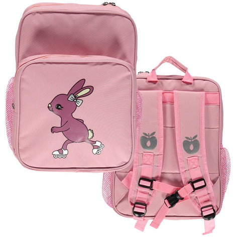 Smafolk Backpack Pink Rollerskate Rabbit