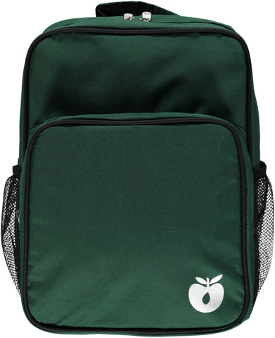 Smafolk Backpack with big reclector apple Elm Green