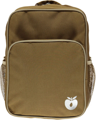 Smafolk Backpack with big reclector apple Toasted Coco