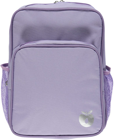 Smafolk Backpack with big reclector apple Purple