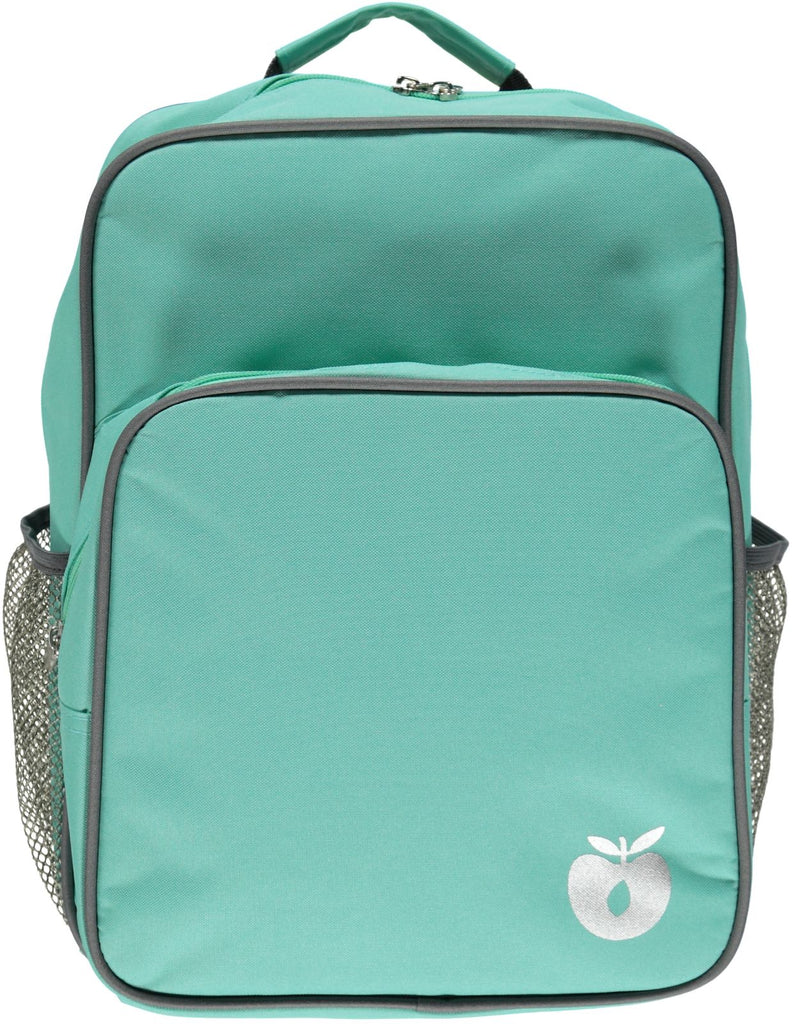 Smafolk Backpack with big reclector apple Pistache