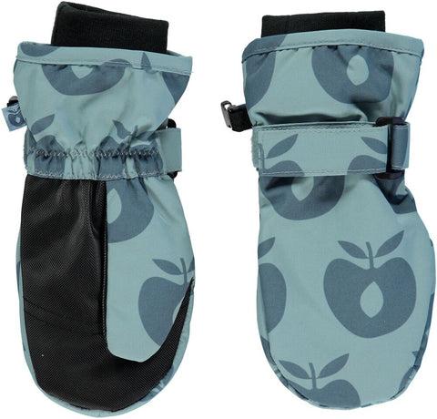 Smafolk Mittens Appels Blauw - Wanten Blue Apples