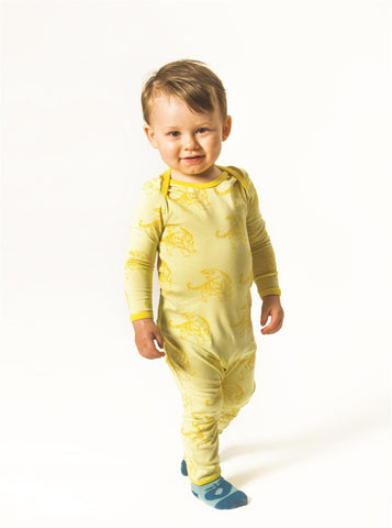 Smafolk - Jumpsuit Geel Tijger Yellow Tiger