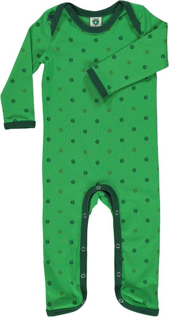 Smafolk - Jumpsuit Green Mini Apples - Groene Appeltjes