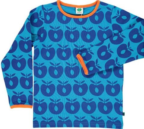 Smafolk - Longsleeve Apples Blue
