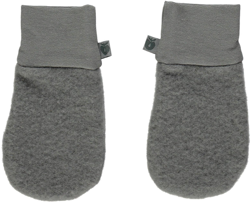 Smafolk Mittens WOOL Grey