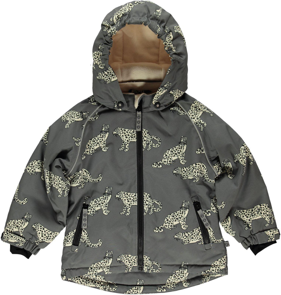 PRE-ORDER: Smafollk - Winterjacket Leopard Short (boys) model