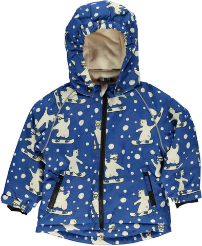 Smafollk - Winterjacket Polar Bear Snowboard
