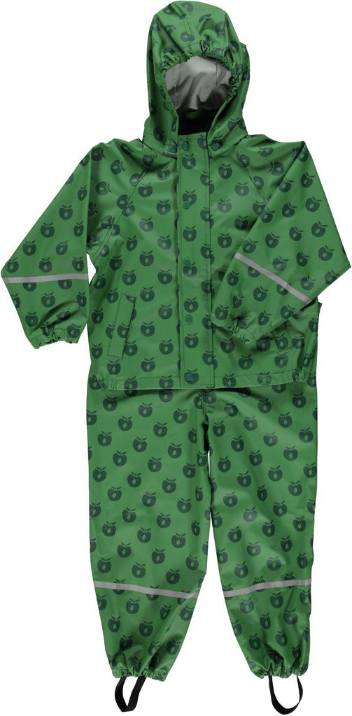 Smafolk Regenpak Appels Groen - Rainsuit Green Apples