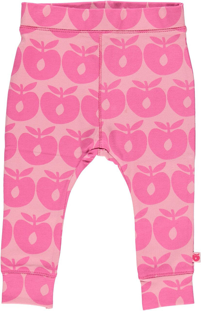 Smafolk - Baby Pants Apples Pink