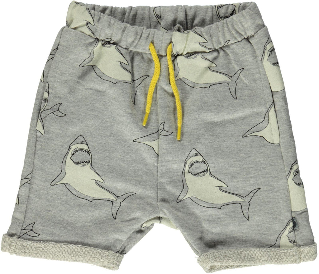Smafolk - Shorts Grijs Haaien - Grey Sharks
