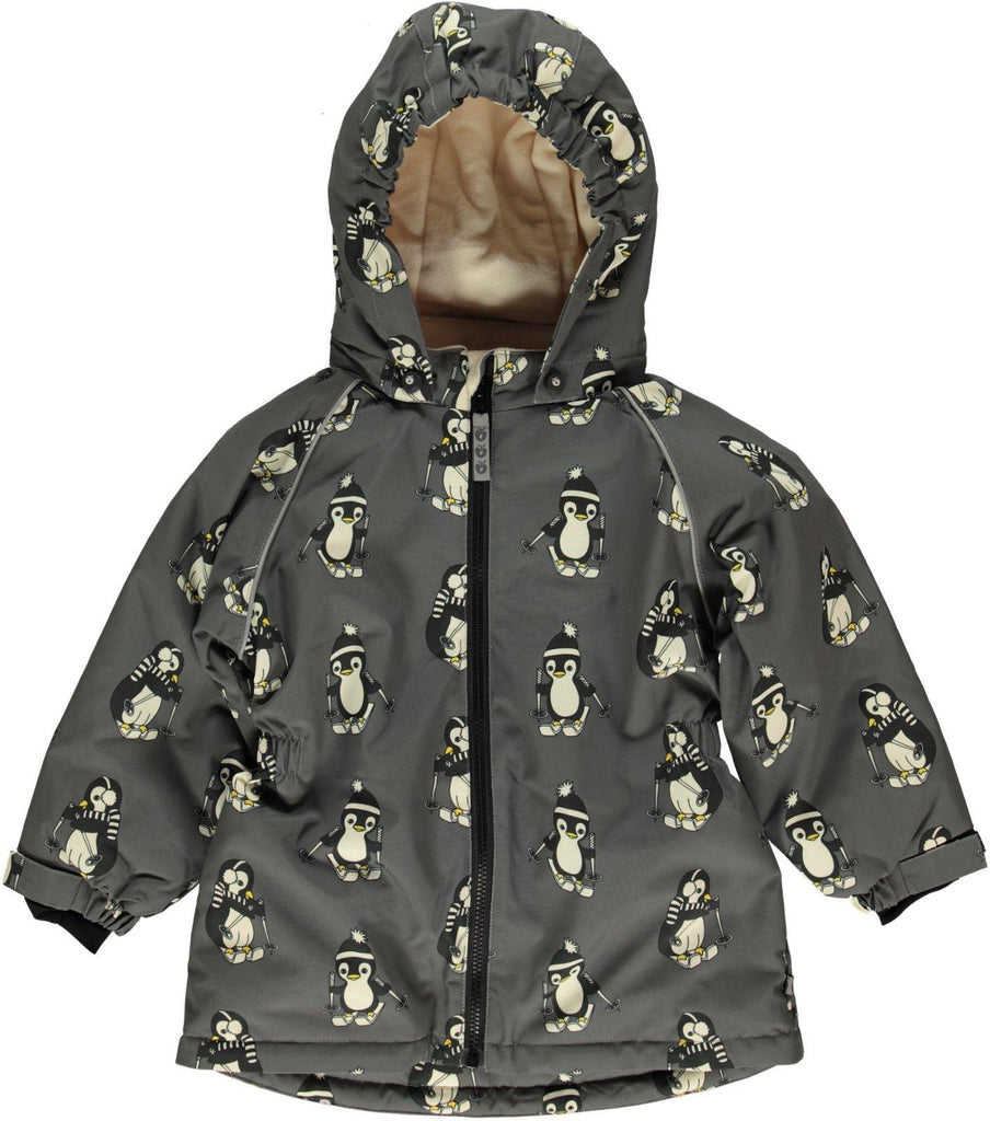 PRE-ORDER: Smafollk - Winterjacket Pinguins Long model (getailleerd, meisjes model)