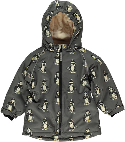 Smafollk - Winterjacket Pinguins Long model (getailleerd, meisjes model)