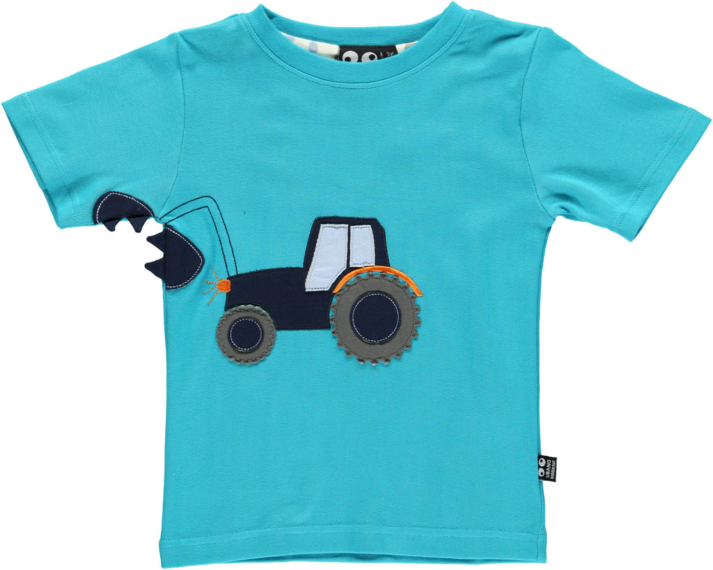 Ubang T-Shirt Tractor - Turquoise T-Shirt Tractor