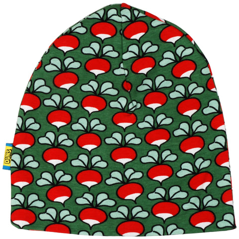 Duns Sweden - Beanie Double Layer Hat Radish Green