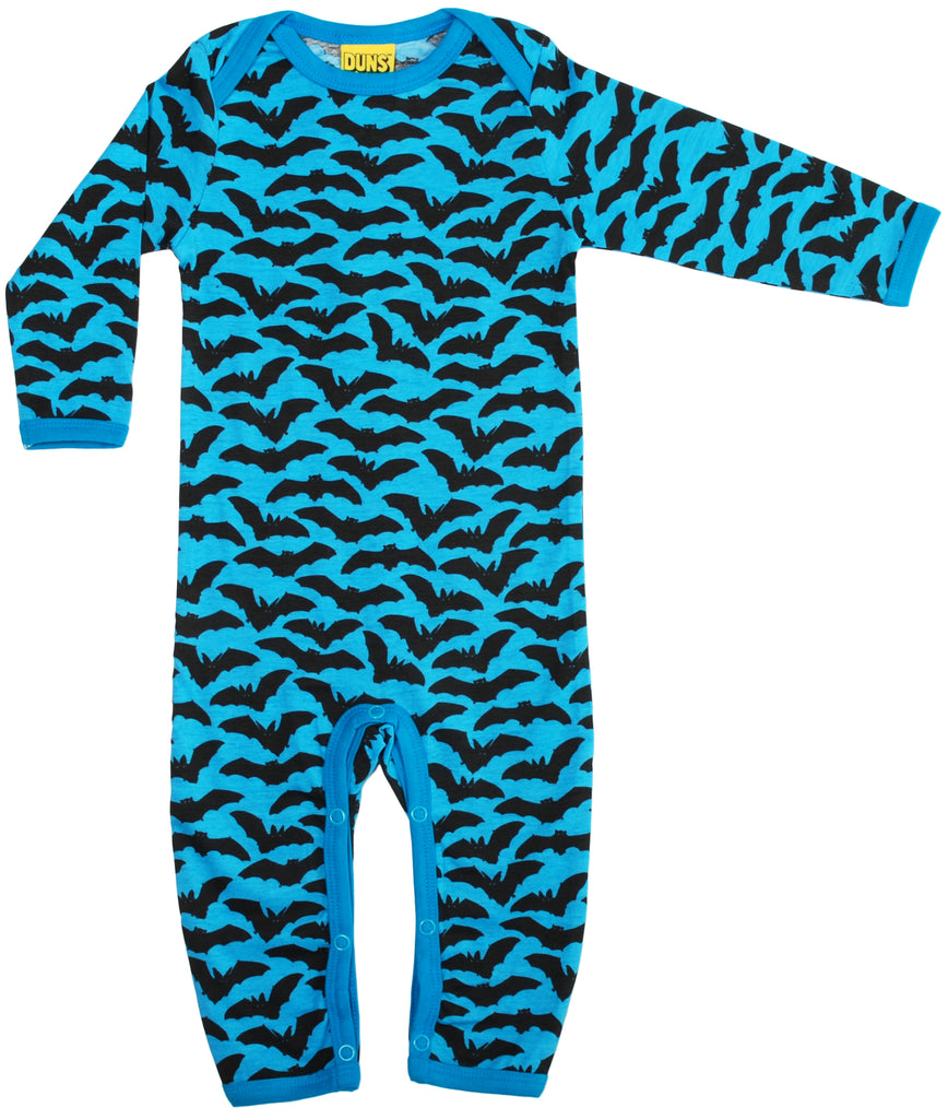 More Than A Fling Jumpsuit Bats Blue Vleermuizen Blauw