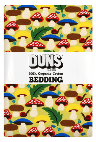 Duns Sweden - Bedding Mushrooms Green Junior