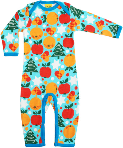 Duns Sweden Jumpsuit Christmas Blue
