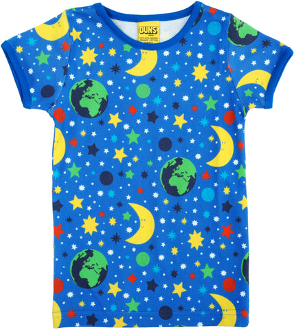Duns Sweden - T-shirt Mother Earth Blue