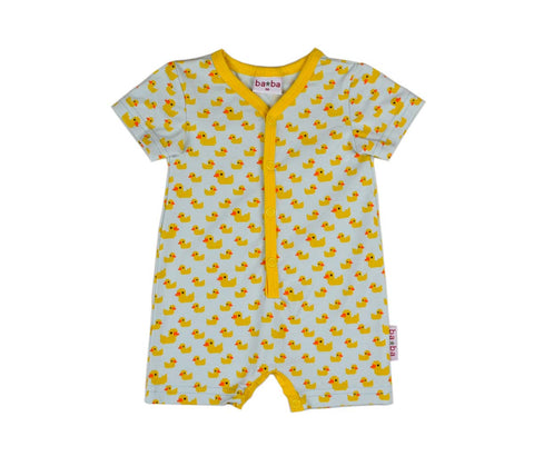 Baba*Babywear SummerSuit Yellow Ducks