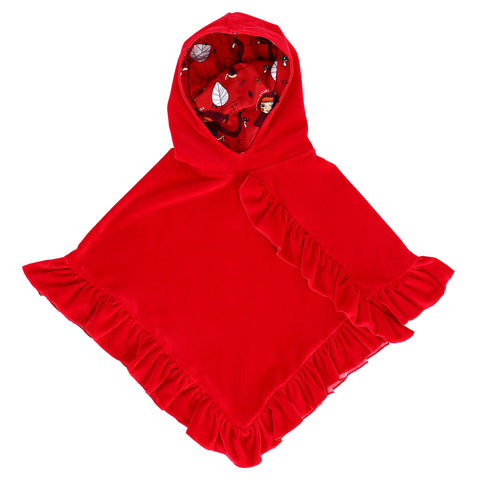 Raspberry Republic - Velour Cape Royal Ruby