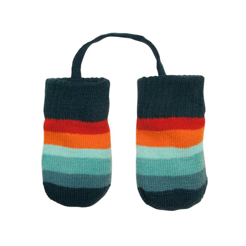 Villervalla - Baby Gloves Africa (Blue striped)