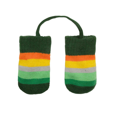 Villervalla - Baby Gloves Europe (Green striped)
